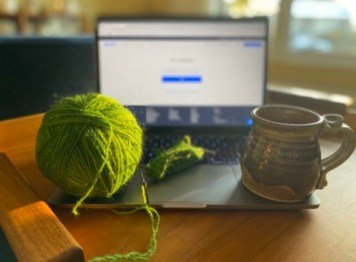 Virtual Knitting